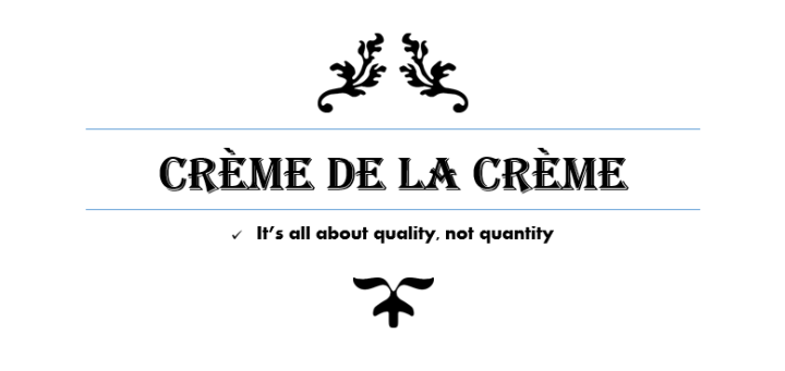 crèmedelacrème